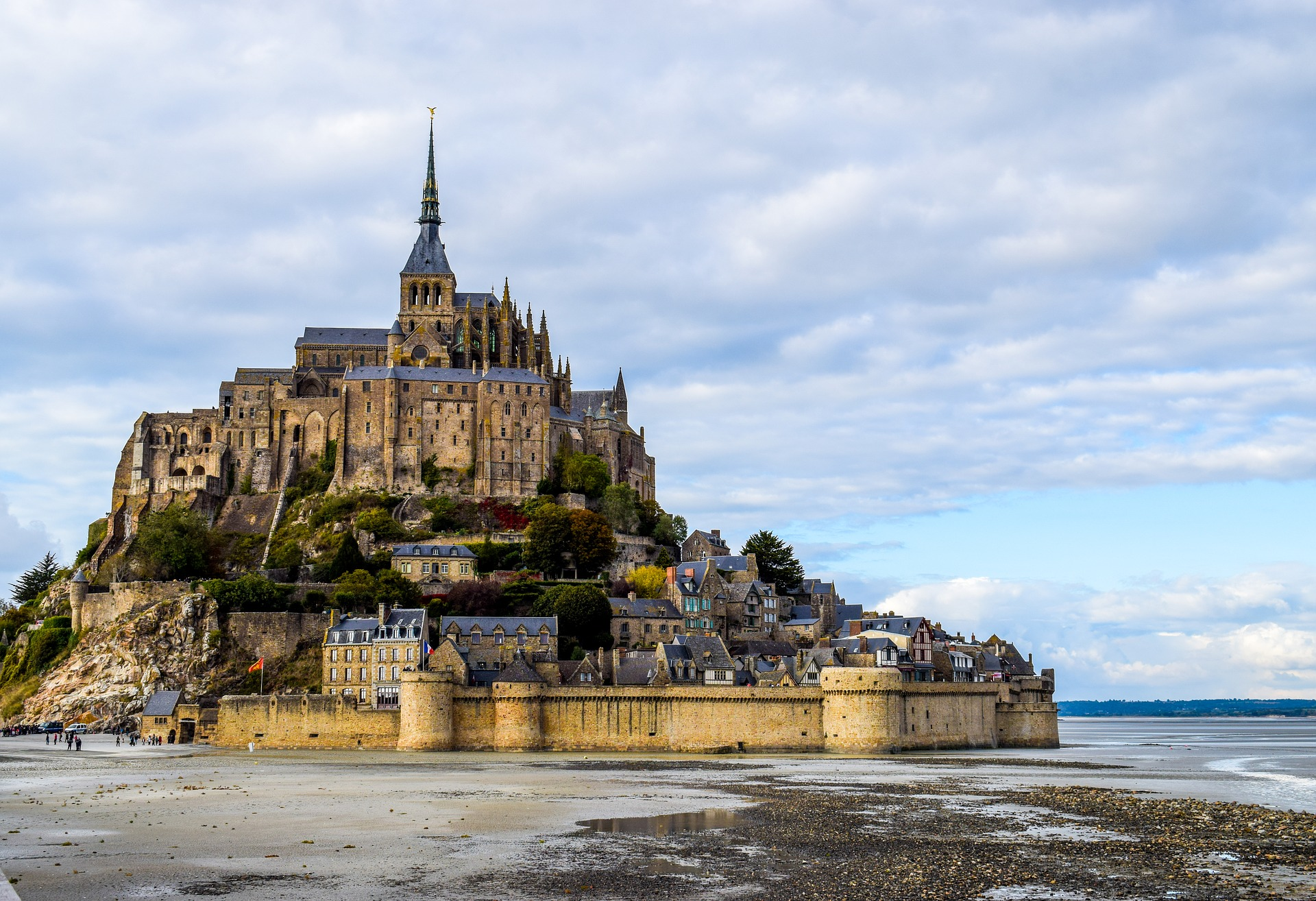 Un week-end insolite au Mont Saint-Michel